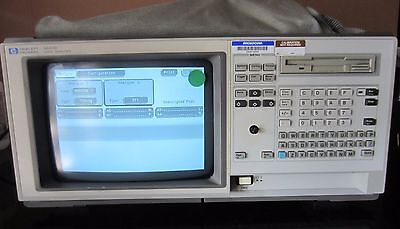 HP 1661C 102-Channel 100 MHz State/500 MHz Timing Benchtop Logic Analyzer