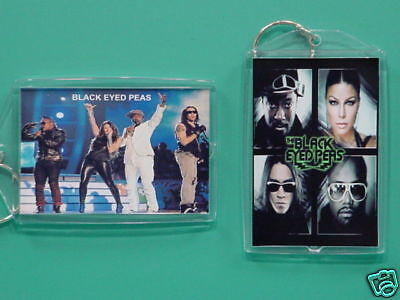 BLACK EYED PEAS - Fergie - with 2 Photos - Designer Collectible GIFT Keychain 02
