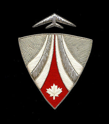 (CATSA) Canadian Air Transport Security Authority Large Crest For Frame