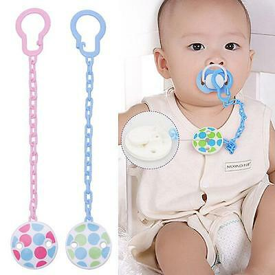 Toddler Toy Pacifier Infant Chain Clip Baby Boy Soother Girl Holder Hot Dummy