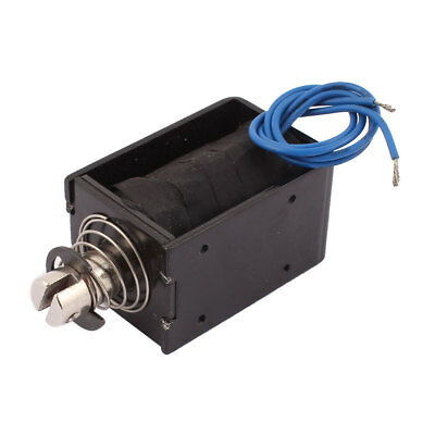 JF-1578B DC 12V 8A 50N Pull Push Type Open Frame Solenoid Electromagnet