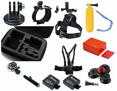12in1 Accessories Kit Set Bundle Combo for SJ4000 and SJ4000 WIFI Camera Mounts