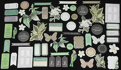 Kaisercraft 'LIMELIGHT' Collectables Die Cut Shapes Floral KAISER *DELETED*
