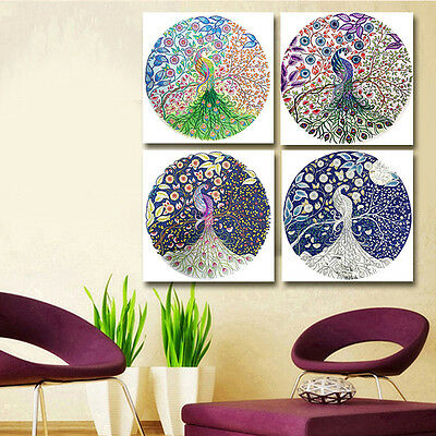 DIY 5D Diamond Embroidery Painting Home Decor Flower Peacock Cross Stitch Crafts