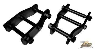 MRC Roadsafe 50mm Extended shackles Toyota Hilux solid axle front