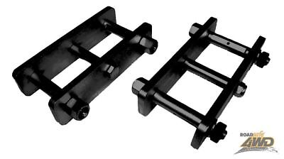MRC Roadsafe 50mm Extended shackles Toyota Hilux solid axle rear