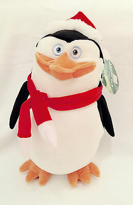 The Penguins Of Madagascar, Skipper Plush Toy, Christmas Soft Toy 13'' Tall New