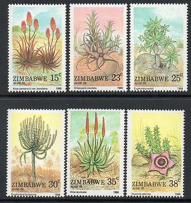 ZIMBABWE MNH 1988 Aloes Set