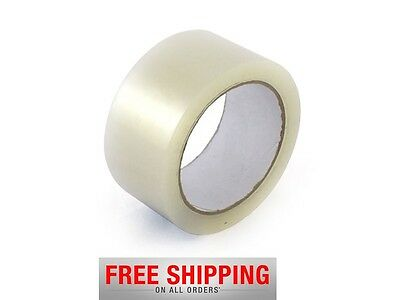Clear 144 Rolls Of Carton Packaging Tape Sellotape 48Mm X 50M !cheap And New !!!