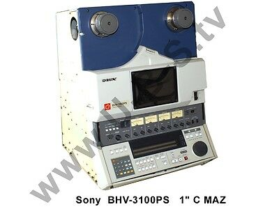 "Sony BVH-3100PS - 1"" C -Format Video Tape Recorder (VTR) + Remote"