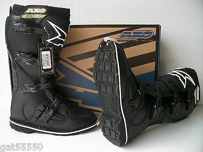New Axo Enduro Adventure Trail Boots Mx Crf Xr Drz Xcf Excf Wrf Kdx Motocross Mx