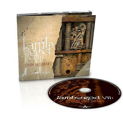 LAMB OF GOD VII: Sturm Und Drang w/ 2 Bonus Tracks LTD. DIGIPAK PANTERA/CHIMAIRA