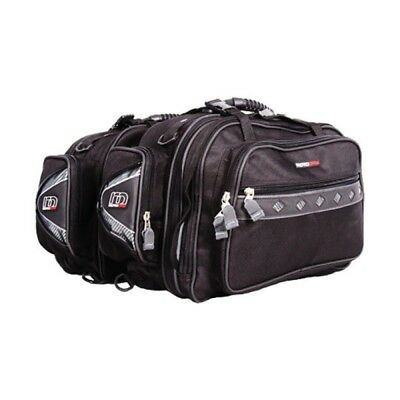 Heavy Duty Expandable Touring Saddlebags Motorbike Waterproof Panniers