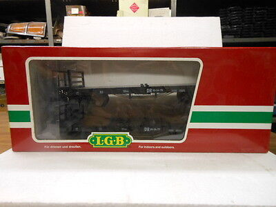 LGB G Scale 45690 DR Flat Cars 2-Pack