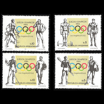 Argentina 1984 - Summer Olympic Games Los Angeles Sports - Sc 1467/0 MNH