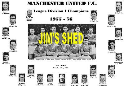 Manchester United 1956 League Champions Memorabilia