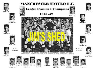 Manchester United 1957 League Champions Memorabilia