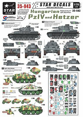 Star Decals 1/35 Hungarian PzKpfw IV and Hetzer 35943