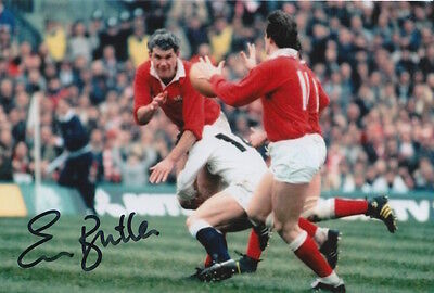 Wales Hand Signed Eddie Butler 6X4 Photo Rugby Union 6.