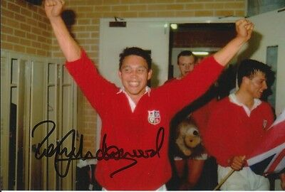 British And Irish Lions Hand Signed Rory Underwood 6X4 Photo Rugby Union 1.