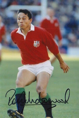 British And Irish Lions Hand Signed Rory Underwood 6X4 Photo Rugby Union 3.