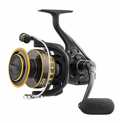 Daiwa BG 3500 Black & Gold Series Spinning Light Saltwater Reel NIB
