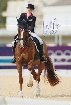 Laura Bechtolsheimer Hand Signed Great Britain Olympics 6X4 Photo 1.