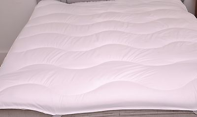 ANTI ALLERGY Luxury Quilted Mattress Topper / Reviver Slight Second