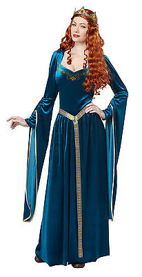 Adult Maid Marian Lady Guinevere Renaissance Medieval Costume