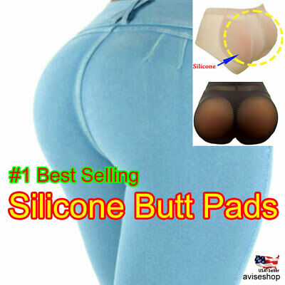 Brief Silicone Pads Butt Enhancer Shaper Panties Undies Tummy Control