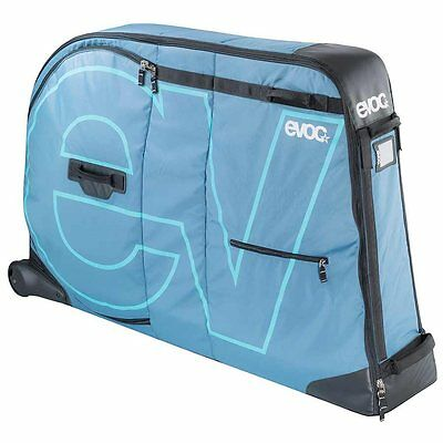 EVOC, Bike Travel Bag, Bicycle Travel Bag, Bike Bicycle Transport Bag, Blue