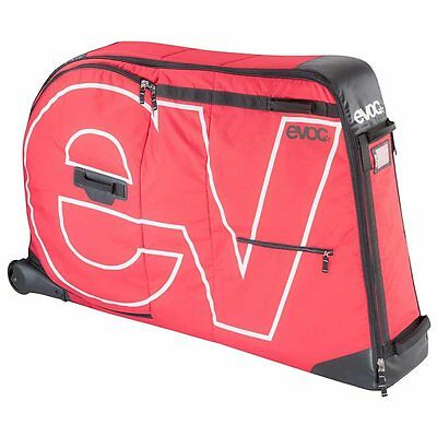 EVOC, Bike Travel Bag, Bicycle Travel Bag, Bike Bicycle Transport Bag, Red