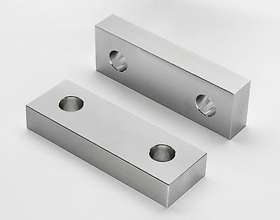 "6 x 2 x 1"" Standard Aluminum Machinable Soft Jaw for 6"" Kurt Vises Free Shipping"