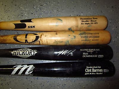 Clint Barmes 2011 Game Used Astros Marucci Bat MLB Authentic (Rockies Pirates)