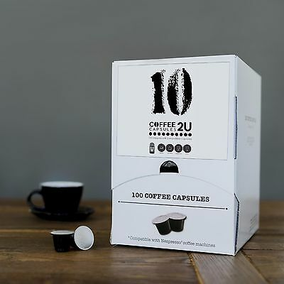 COFFEE CAPSULES 400 PK BLEND 10- Nespresso Compatible Capsules/Pods