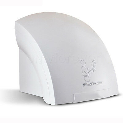 Automatic Electric Hand Dryer Wall Mounted Washroom Bathroom 1800W 240V Powerful