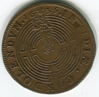 Netherlands 1635:  Person in maze Dug 3900