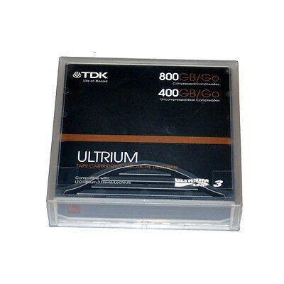 (5 Pack) TDK Ultrium LTO 3 Tape 400/800 GB Data Cartridge