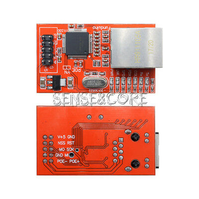 New Mini W5100 LAN Ethernet Shield Network Module board Für Arduino DE TE230