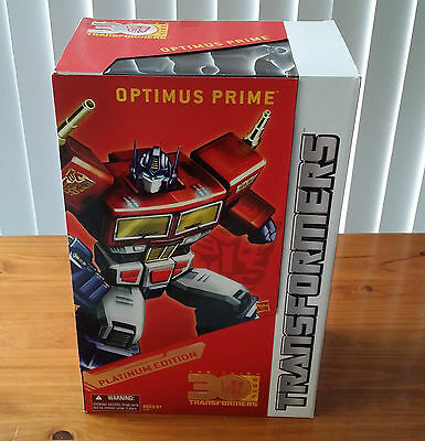 "Transformers Platinum Edition Year Of The Horse ""optimus Prime"""