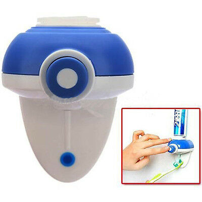 Automatic Auto Toothpaste Dispenser Holder Stand Set Wall Mount Rack Useful