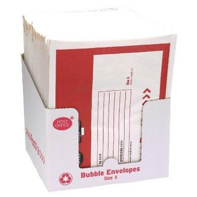 Post Office Bubble Envelope Size 5 Pack of 40 41640