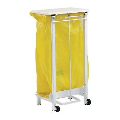 Pedal Operated Sack Holder Freestanding 92 Litre Semi-Mobile 330258