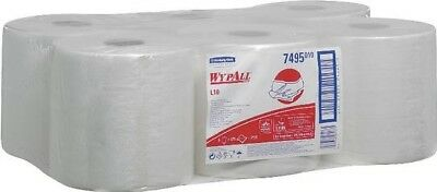 Wypall L10 Wipers White Pk6 7495