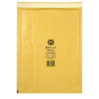 Jiffy AirKraft Bag Size 5 Gold Multi Pack of 10 MMUL04605