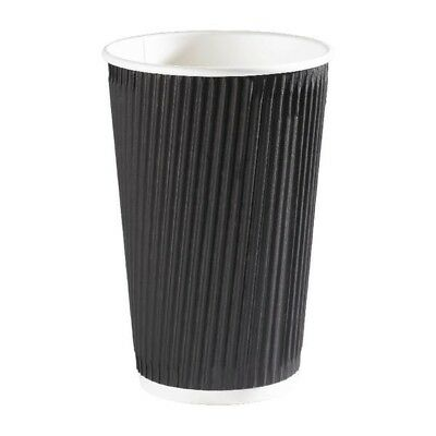 4Aces 12 Oz Black Ripple Cup Pack 500