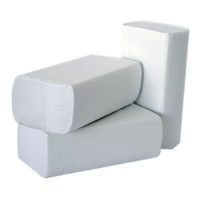 2Work M-Fold Hand Towel 1-Ply White Pack of 3000 HT8301
