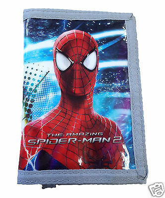 Official Marvel The Amazing Spiderman 2 Kids Wallet - Great value sent fast!