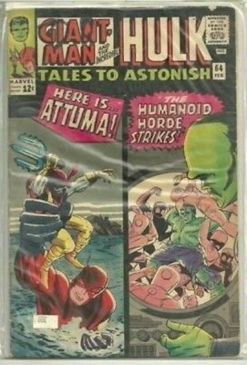 Tales To Astonish #64 Marvel (Hulk/Giant-Man 1965) Silver Age Comic Book FN/FN+