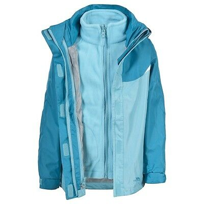Trespass Camilla Girl's 3 In 1 Jacket Brand New With Tags Age 6 Years RRP £40
